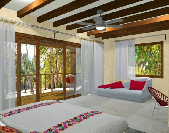 Garden Suite in Tulum - Interior - ArenaBlue