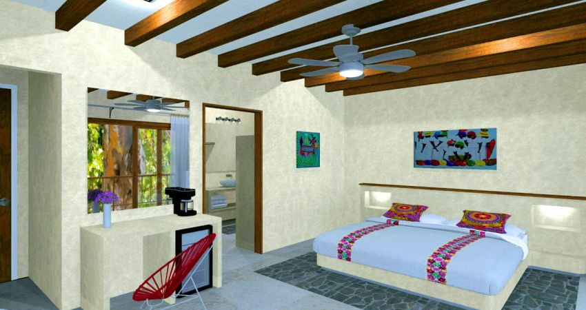 Garden Suite in Tulum - Interior- ArenaBlue